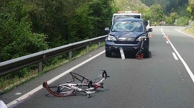 Indemnizacion por atropello a ciclista