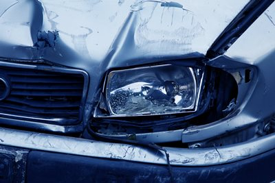 Indemnizacion por daños materiales en accidente de trafico