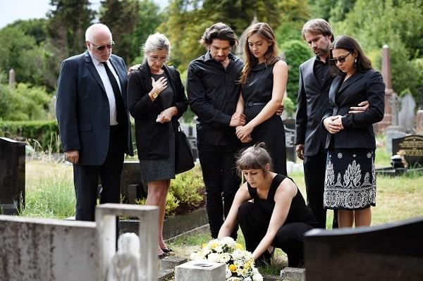 Derechos de los familiares del fallecido